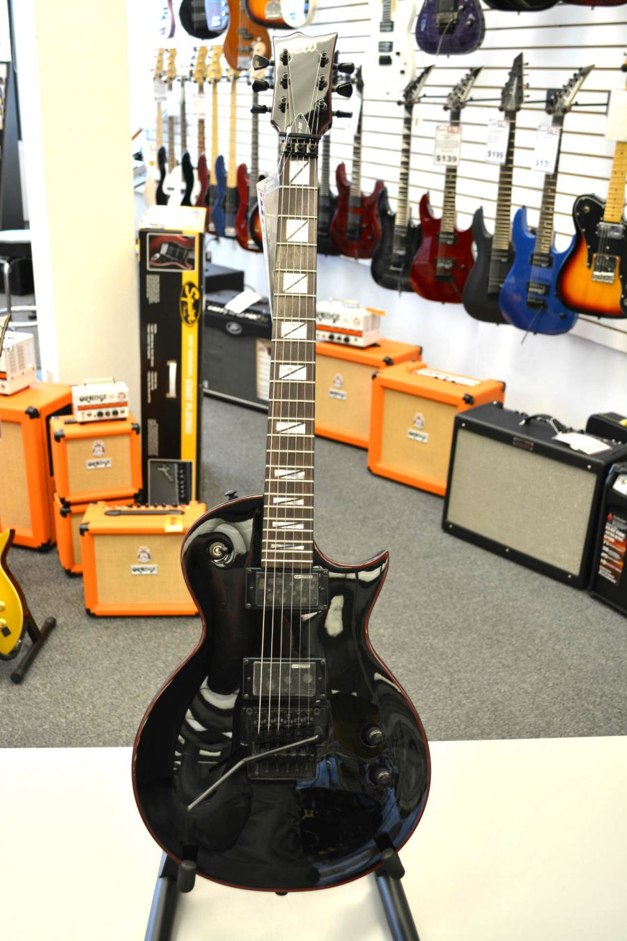 esp ltd gh 200 gary holt signature electric guitar. Black Bedroom Furniture Sets. Home Design Ideas