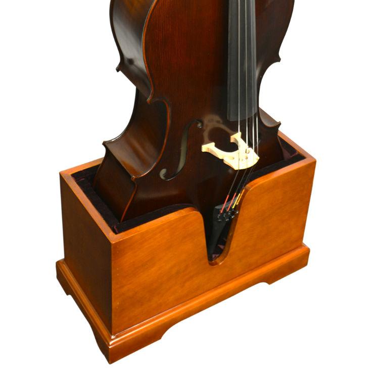 Vienna Wooden Cello Stand Cherry