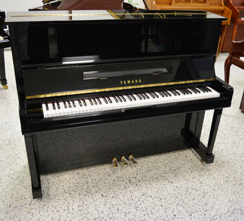 Yamaha u1 upright piano black polish 48 034 ebay for Used yamaha u1 price