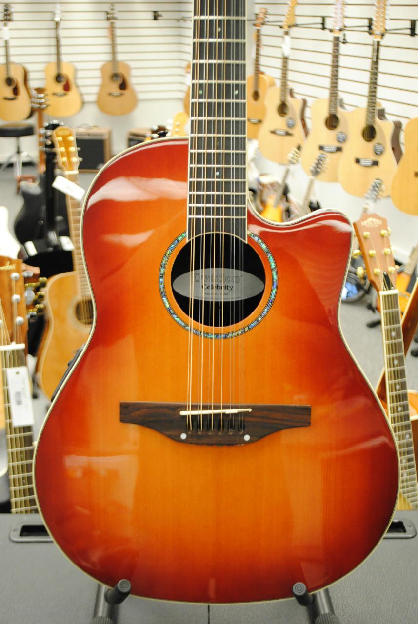 ovation 12 string acoustic guitar | eBay